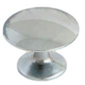 Ручка-кнопка 306 (5022) хром фурнитура