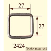 Рамка 2424 металл