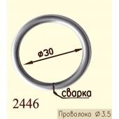 Кольцо из металла сварное