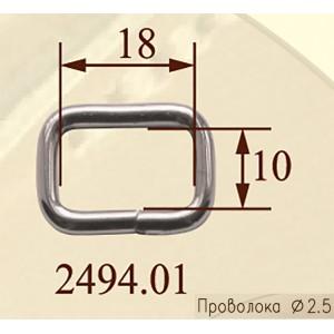 Рамка 2494.01 металл