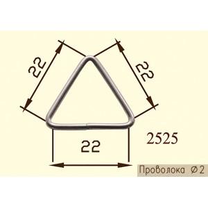 Рамка Треугольник 2525