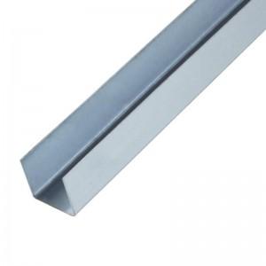 Металлический КНАУФ-профиль направляющий (ПН) потолочный 28x27 мм, 3000 мм