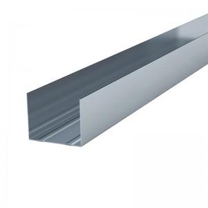 Металлический КНАУФ-профиль направляющий (ПН) 100x40, 3000 мм